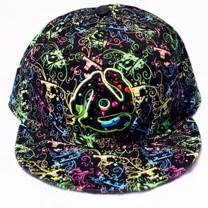 New Era Fitted Hat Cap Lid Colorful Paintball